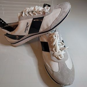 Coach New York Ladies Sneakers Size 8M